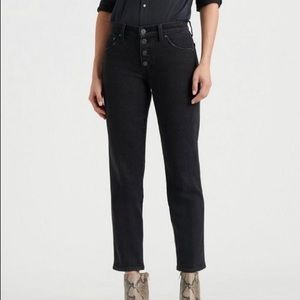 Lucky Brand Authentic Straight Crop size 10 / 30